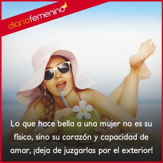 Frases Para Mujeres Tu Corazón Y Amor Te Hace Bella