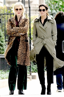 Rodajes de películas: Sandra Bullock y Cate Blanchett en Oceans Eight