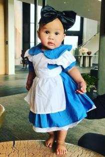 Un disfraz ideal para Luna, la hija de John Legend