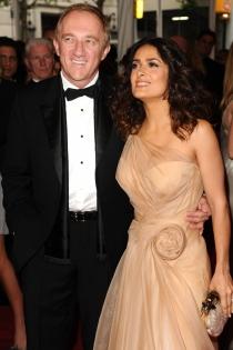 Salma Hayek y su marido, amor verdadero