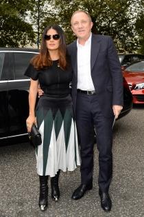 François Henri Pinault y Salma Hayek, una pareja enamorada
