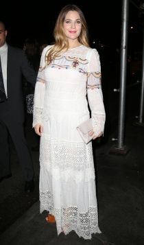 Famosas que sufrieron depresión postparto: Drew Barrymore