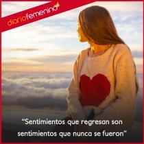 Frases sobre sentimientos: aquellos que regresan...