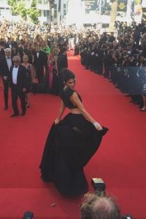 Kendall Jenner, la única Kardashian que ha llegado al festival de Cannes