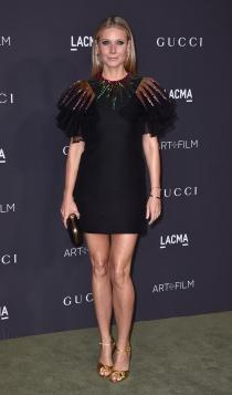 Gwyneth Paltrow, toque de brillos