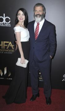 Hollywood Films Awards 2016: Mel Gibson y Rosalind Ross