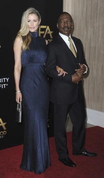 Hollywood Film Awards 2016: Eddie Murphy y Paige Butcher