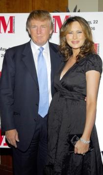 Melania y Donald Trump, siempre juntos