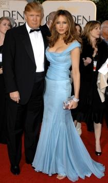 Melania y Donald Trump, una sólida pareja