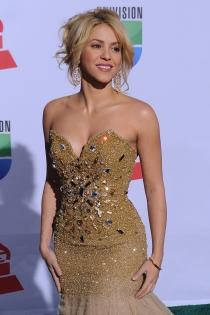Shakira, mujer de oro en los Grammy Latinos de 2011