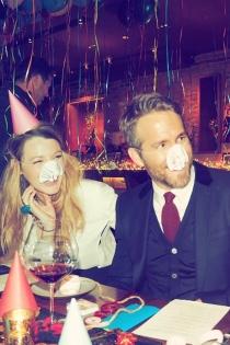 Blake Lively y Ryan Reynolds, una pareja divertida