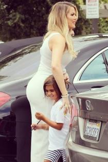 Mason Disick y su complicidad con su tía Khloé Kardashian
