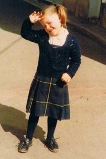 Famosas de pequeñas: Soraya Arnelas, una niña buena