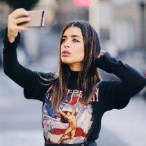 Dulceida, otra amante de los selfies