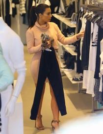Adictas a las compras: Kim Kardashian
