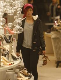 Adictas a las compras: Rihanna