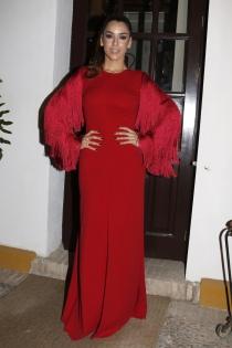 Ruth Lorenzo, radiante de rojo