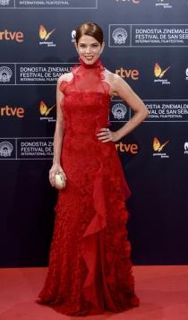 Juana Acosta, todo al rojo