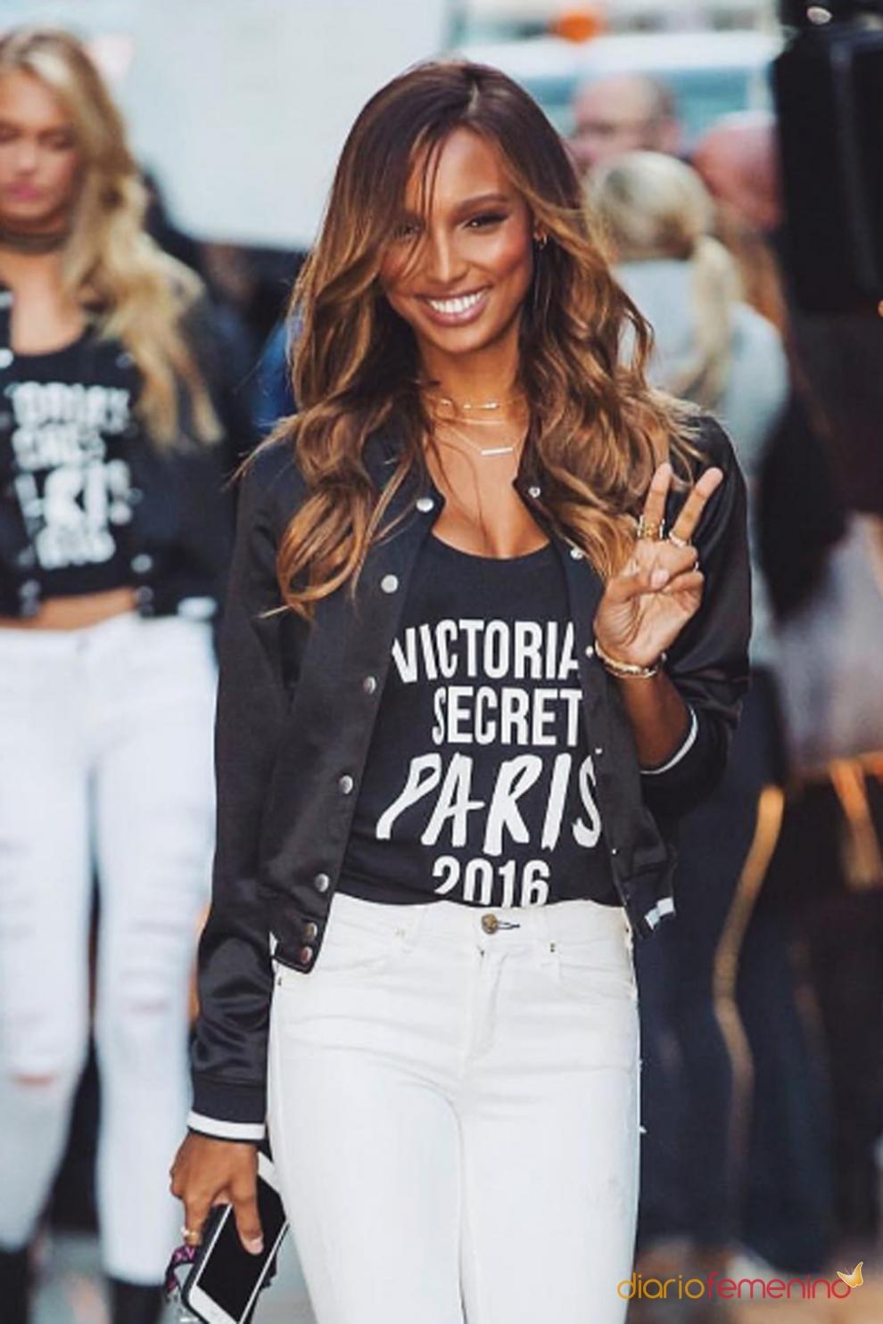 Horóscopo en Victoria's Secret: Jasmine Tookes es Acuario