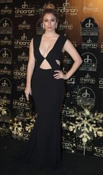 Blanca Suárez, sexy de negro