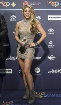 Premios 40 Principales: Shakira