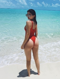 Kylie Jenner, presume de trasero