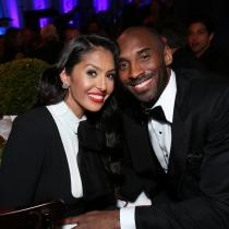 Famosos papás en 2016: Kobe Bryant y Vanessa