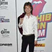 Famosos papás en 2016: Mick Jagger y Melanie Hamrick