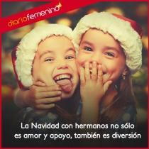 La diversión y la magia, el amor de tus hermanos en Navidad