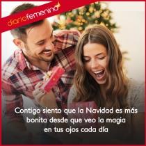 No hay mejor ilusión que un regalo de una frase romántica esta Navidad