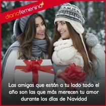 Agradece cada día a tus amigos su amor en Navidad