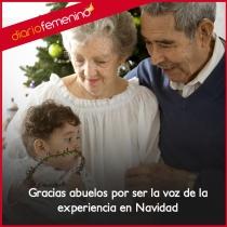 Gracias abuelos porque sin vuestra experiencia no sería Navidad