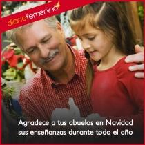El agradecimiento de las enseñanzas, un regalo de Navidad a tus abuelos