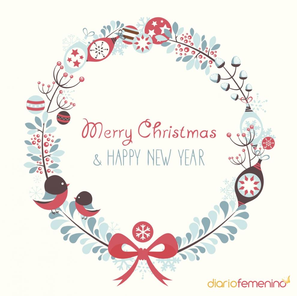 Feliz navidad y pr spero a o nuevo con tarjetas navide as - Postales navidenas bonitas ...