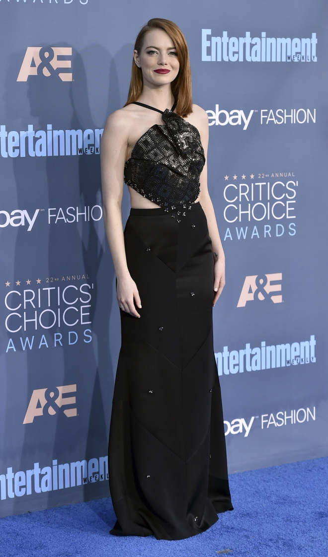 Critics' Choice Awards 2016: Emma Stone
