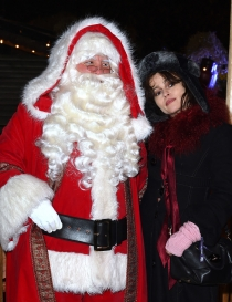 Famosos que adoran a Santa Claus: Helena Bonham Carter