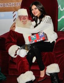 Famosos que adoran a Santa Claus: Victoria Justice