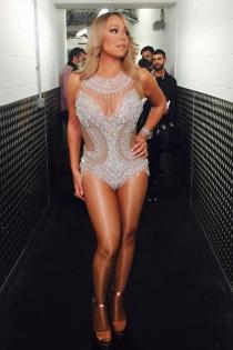 Mariah Carey y sus vestidos de Navidad