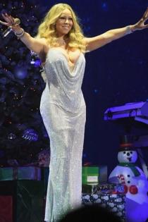 El vestido de bola de discoteca de Mariah Carey