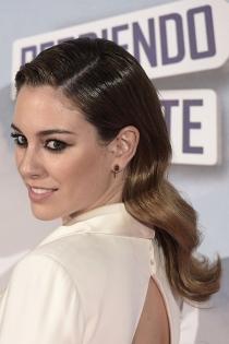 Peinados efecto mojado: Blanca Suárez