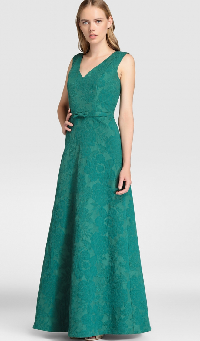 Vestido verde el corte ingles