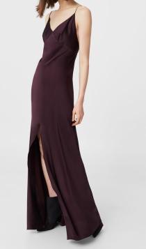 Vestidos de invitada en 2017: la opción burdeos de MANGO