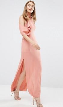 Vestidos de invitada en 2017: un look rosa palo de ASOS