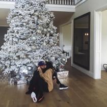 Las románticas navidades de Kylie Jenner y Tyga