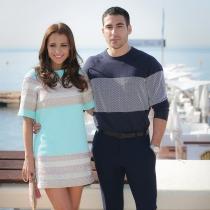 Paula Echevarría y Miguel Ángel Silvestre, pareja televisiva