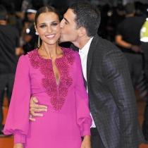 El beso de Miguel Ángel Silvestre a Paula Echevarría