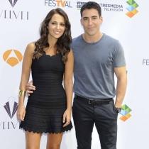 Paula Echevarría y su partenaire en Velvet