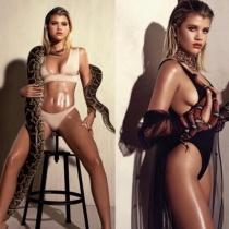 Sofia Richie, con serpientes para Complex