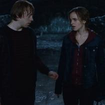 Besos en rodajes: Emma Watson y Rupert Grint