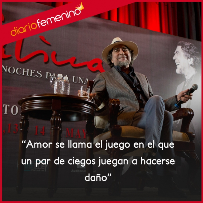 Frases De Canciones De Joaquin Sabina El Amor Es